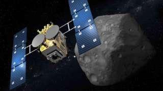Японский зонд готовится к сближению с астероидом Рюгу