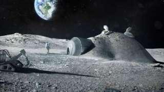 NASA хочет построить на Луне ракетный завод