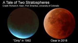 Ученый рассказал, как климат Земли влияет на лунные затмения