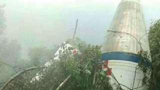 Обломки ракеты так напугали двух китайцев, что они приняли их за разбившийся НЛО