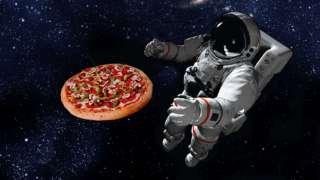 Американский астронавт заказал пиццу прямо из космоса