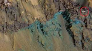 Уфологи заметили на поверхности Марса призрак кота