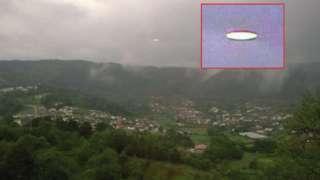 В Португалии местный житель сфотографировал светящий НЛО