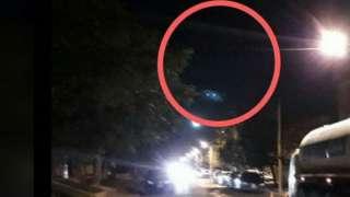 В Аргентине ночной НЛО напугал местных жителей
