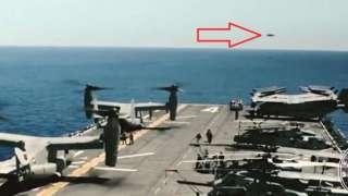 В СМИ попали данные об атаке НЛО на американский ракетоносец