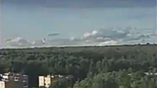 Видео с огромным НЛО над Москвой поразило россиян