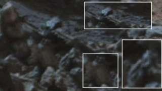 Российский уфолог нашёл на Марсе мумию солдата-инопланетянина