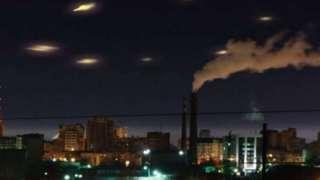 В Марокко засняли эскадрилью НЛО