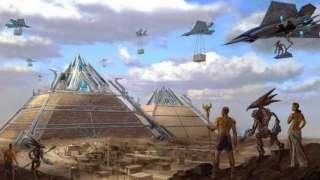 Инопланетяне забирают назад сокровища, оставленные когда-то на Земле
