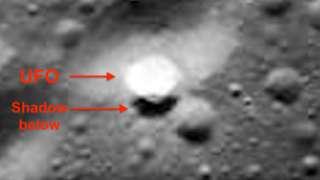 На Луне обнаружен дискообразный летающий объект