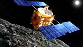 "Японский зонд ""Хаябуса-2"" достиг астероида Рюгу, преодолев путь в 3,2 миллиарда километров"