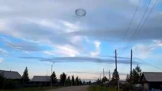 В Забайкалье заметили непонятное небесное кольцо