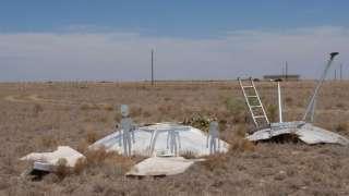 Геолог нашёл фрагменты знаменитого НЛО, упавшего в Розуэлле