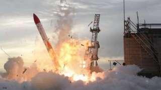 Японская ракета взорвалась во время запуска