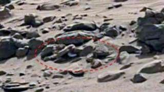 Уфолог уверен, что нашёл на Марсе труп полностью голого инопланетянина