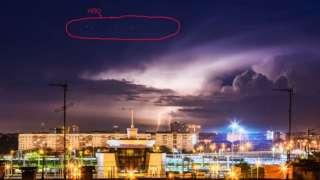 Многочисленные НЛО наблюдали челябинцы с вечера до утра