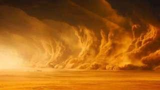 Ученые боятся, что свирепая пылевая буря на Марсе перекинется на Землю