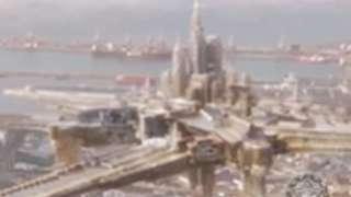 В небе над Кейптауном появился город-призрак
