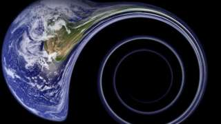 Ученые: Внутри Земли растёт черная дыра