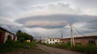 Загадочное облако взбудоражило жителей Кемеровской области
