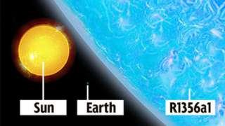 R136a1 из Туманности Тарантула - самая массивная звезда во Вселенной