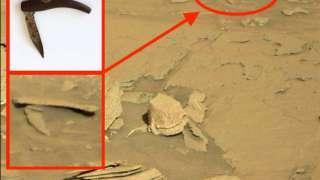 Уфолог нашёл на Марсе инопланетный складной нож