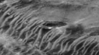 Фотография загадочной марсианской базы появилась в Сети