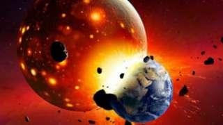 Луна может быть частью Нибиру, отколовшейся в результате столкновения с Землей