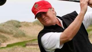 Инопланетяне заинтересовались гольф-клубом Дональда Трампа