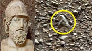 На Марсе обнаружили часть древнеримской статуи