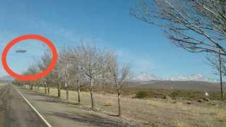 Видео со взлётом огромного НЛО в Аргентине поразило интернет