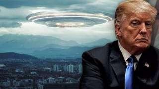 Дональд Трамп намерен поделиться с общественностью шокирующими данными об инопланетянах