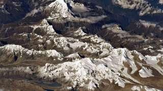Российский космонавт показал снимок горы Эверест из космоса
