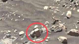Уфолог нашёл на Марсе кирпич