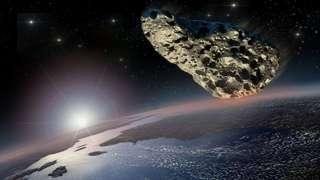 Рядом с Землей пролетел большой астероид 2018 RQ1
