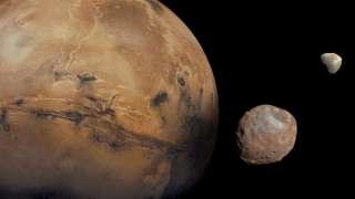 Фобос может быть обломком Марса, а не астероидом