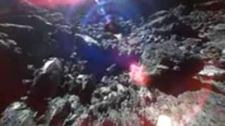 Появилась первая в истории видеозапись с поверхности астероида