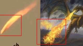 В Аргентине невидимый дракон пустил огромное пламя, посеяв панику среди местных жителей
