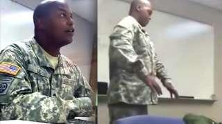Американский солдат рассказал, как его похищали пришельцы, рассмешив своих сослуживцев