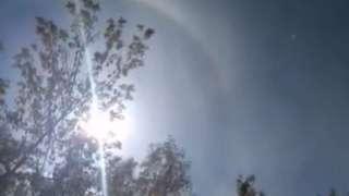 Житель Нижнекамска показал жуткое видео с Нибиру в небе