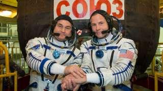 Сергей Овчинин и Ник Хейг готовы к полёту на МКС 11 октября