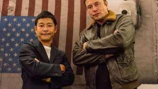 Японский миллиардер Юсаку Маэдзава может полететь к Луне со своей девушкой