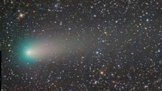 Новосибирский астроном сделал красивейший снимок кометы 21P/Джакобини-Циннера