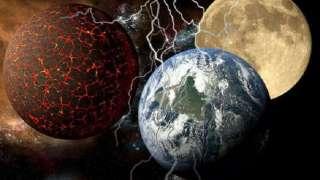 Конспирологи предсказали столкновение Нибиру, Земли и Луны в конце 2018 года