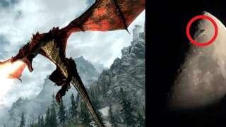 Необычный дракон, пролетевший возле Луны с невероятной скоростью, привёл учёных в смятение