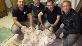 Во Франции найден самый крупный метеорит