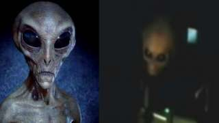 Ошеломляющее видео с настоящим пришельцем появилось в СМИ