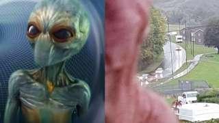 Англичанка столкнулась лицом к лицу с пришельцем, сделала фото и ошеломила Сеть