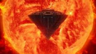 У Солнца снова обнаружен гигантский НЛО, уфологи говорят о скором вторжении пришельцев на Землю