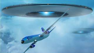 Сразу несколько пилотов авиалайнеров встревожили общественность, сообщив, что видели НЛО над Ирландией